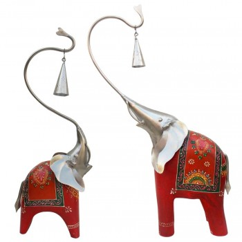 Bell Elephant - Mother Child Duo