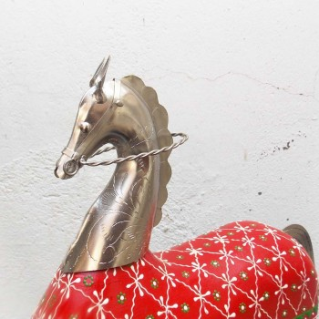 A Horse Wood Carving to add to your Home