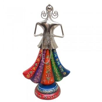 Rajasthani Banjara Musician with Tribal Musical Instrument - Manjira