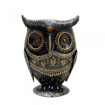 Owl Pen Stand - iron craft