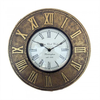 Wall Clock - Roman Numbers Dia 12 inch