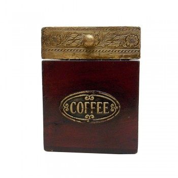 Coffee Box Half Brass