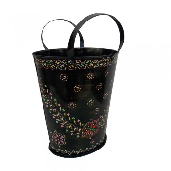 Iron Painted Bucket - Large