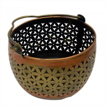 Iron Pefrated Basket ( Set Of Three )