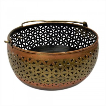 Iron Pefrated Basket dia 10""
