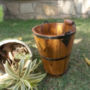 Wooden Bucket Medium