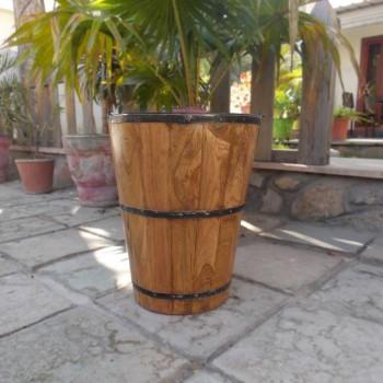 Wooden Bucket Large