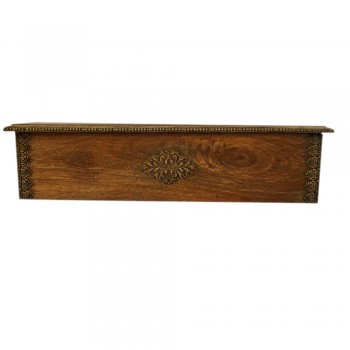 Hand Made Antique Wooden Wall Shelf