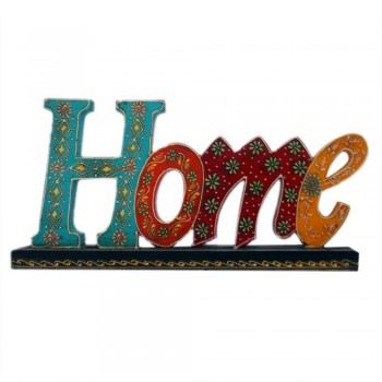 HOME- Hand Painted Wooden Alphabets Calligraphy