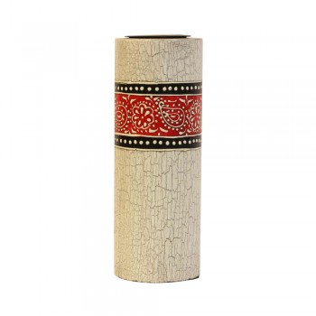 Candle Stand Cylindrical Large (Collection- Elegant Paisley)