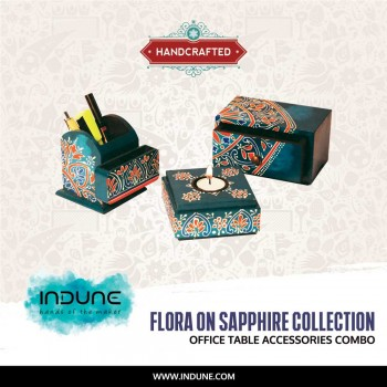 Table Accessories Combo from Flora on Sapphire Collection