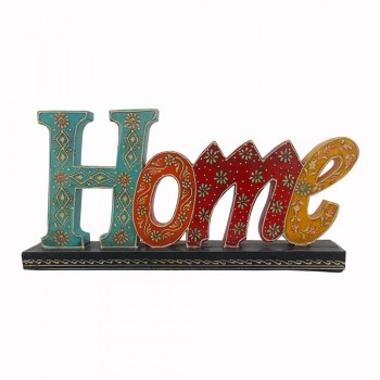 Hand Painted Wooden Alphabets - HOME Decorative Piece