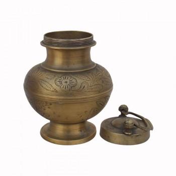 Ganga Jal Lota - Old Brass