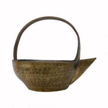 Old Brass Dal Serving Utensil