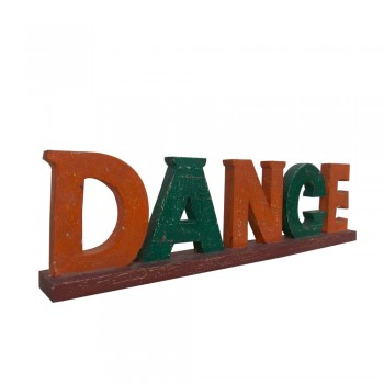 Wooden Alphabet -Dance