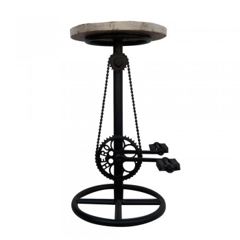 Bicycle inspired Bar Stool