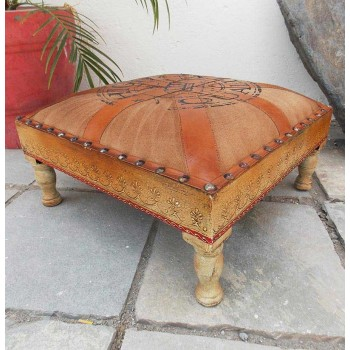 Hand-Painted Bajot Seat