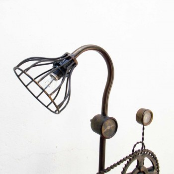 Bicycle Sprocket Chain Lamp Recycled