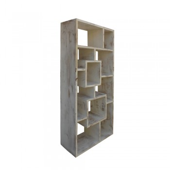 Cube Shelf White Wash