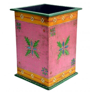 Painted Wooden Planter Holder