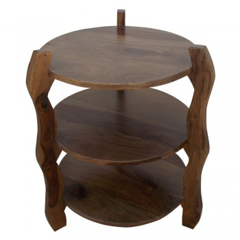 Three Tier End Table - 1