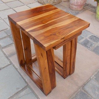Nesting Stools - Half Tapered (Set of Two)