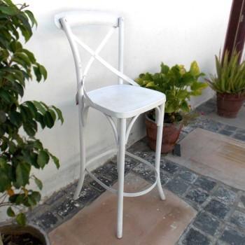 White Bar Chair