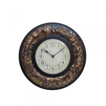 Crackle Glass Mosaic Time Panel