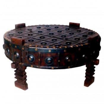 Tribal Chakki Low Table - Ghatti