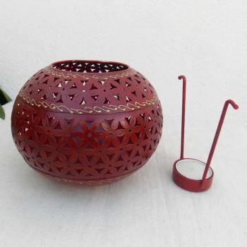 Handi Tea Light Votive - Medium (Red)