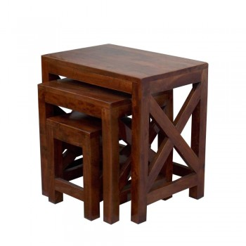 Nesting Stools - Set of Three