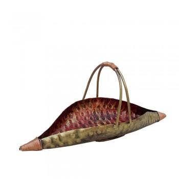Iron Leaf Kamandal Platter - Small