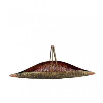 Iron Leaf Kamandal Platter-Medium