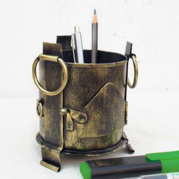 Iron Sigdi Pen Holder-Golden