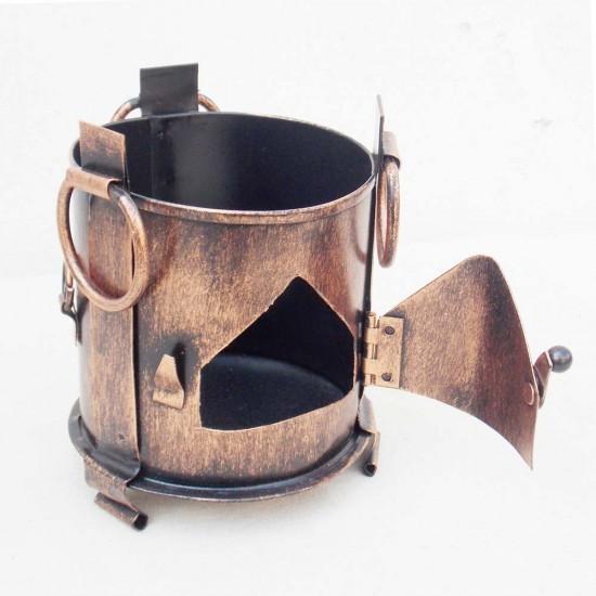 Iron Sigdi Pen Holder-Copper