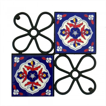 Hot Plate Iron & Ceramic Tile -  Chowki
