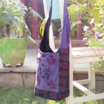 A-U-M Bag, Plum / Deep Purple