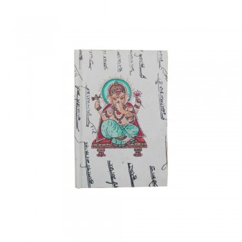 Calligraphy Old Paper Journal, (Ganesha Ji)