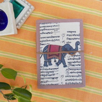 Calligraphy Bahi Khata Journal, (Elephant)