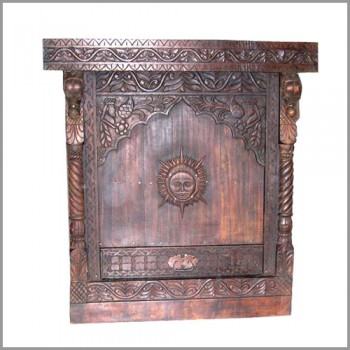 Wooden Carved Podium
