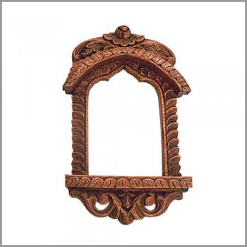 "Jharokha Frame 18"" - Copperish"