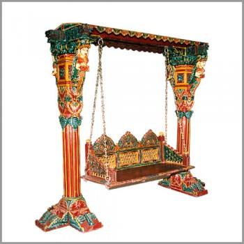 Painted Jhula Swing