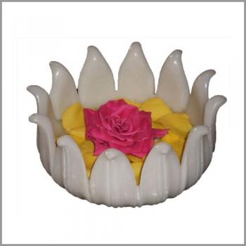 Marble Lotus Bowl