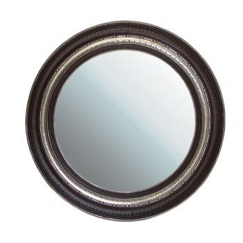 Metal Embellished and Polished Mirror Frame