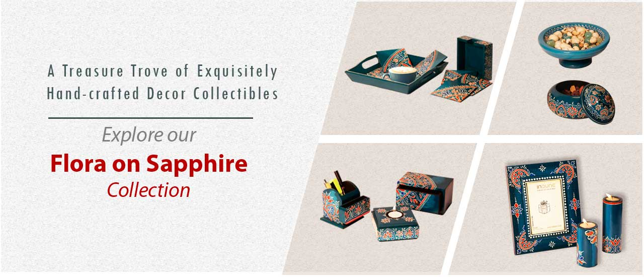 A Treasure Trove of Exquisitely Hand-crafted Décor Collectibles Explore our Flora on Sapphire Collection