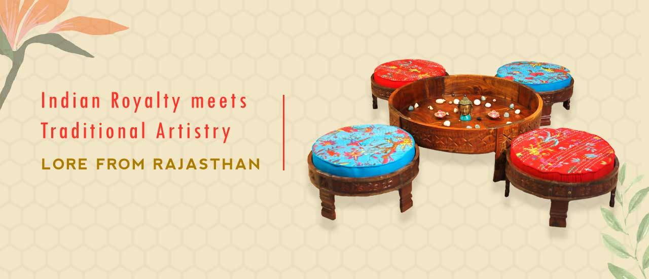 Indian Royalty meets Traditional Artistry Explore our Lore of the Princely State Collection