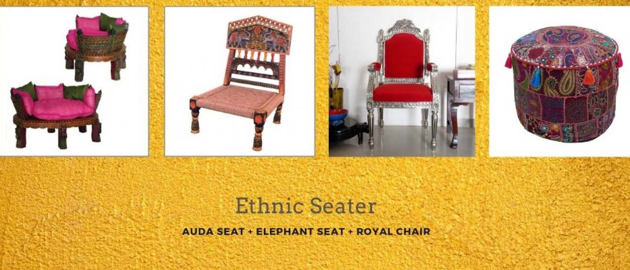 Auda Seat + Elephant seat + Royal Chair